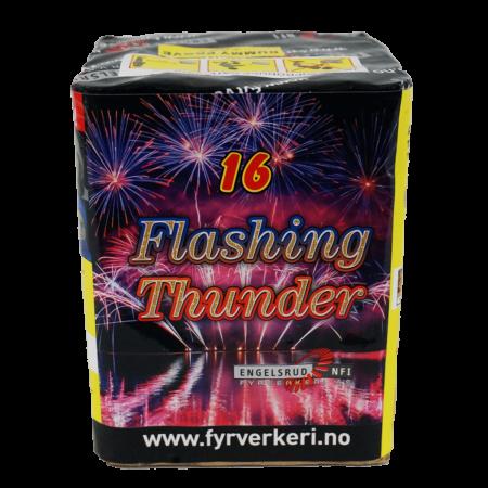 130-FlashingThunder Engelsrud Fyrverkeri
