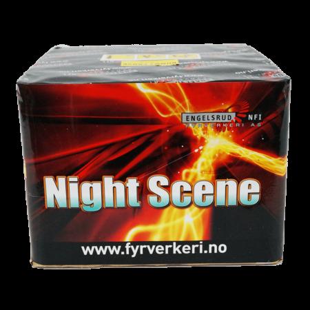 527-NightScene Engelsrud Fyrverkeri